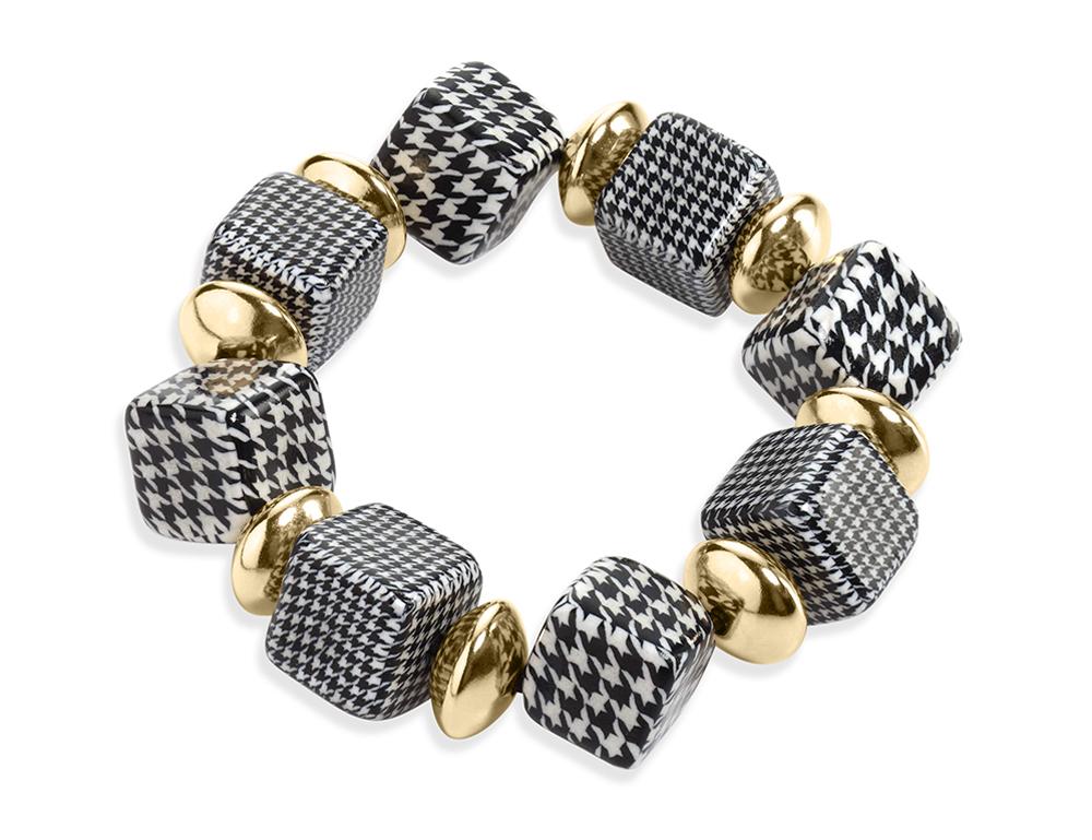 Goldfilled Beaded Bracelet ADINA PLASTELINA