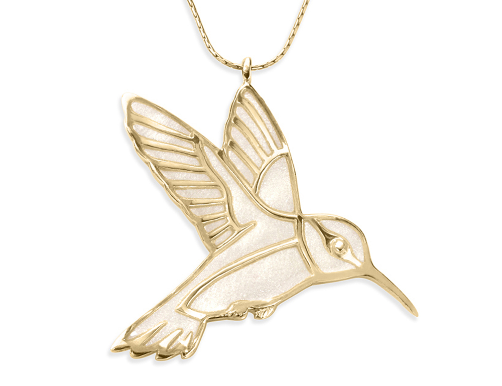 pendant black jewelry beach products best eyes vermeil in hummingbird laguna store diamond mg necklace gold