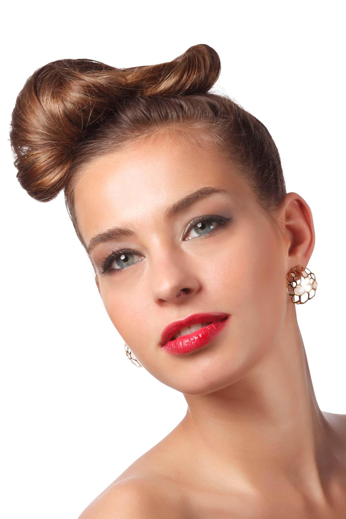 Stunning Handmade Vermeil Coral Stud Earrings – Pearl Pattern